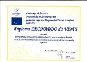 diploma leonardo