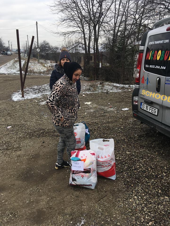 Scoala Postliceala FEG Iasi Activitate umanitara