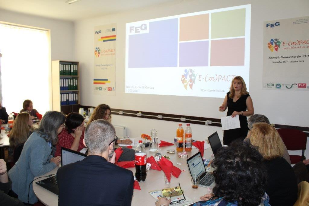Scoala Postliceala FEG Iasi Proiect Erasmus+ E-(m)PACT