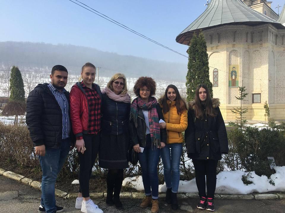 Vizita la Manastirea Vladiceni