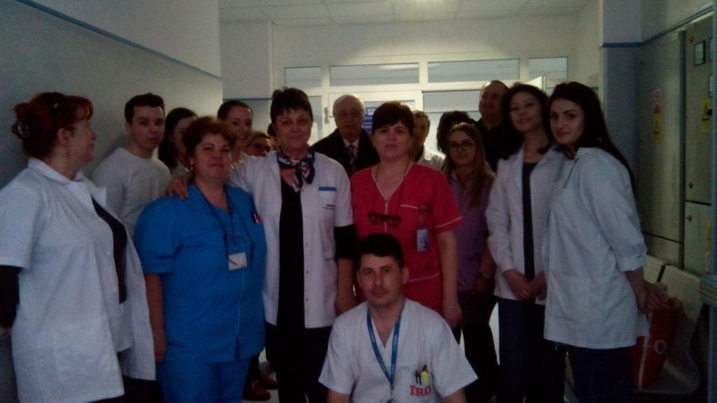 Vizita la Spitalul Regional de Oncologie, Iasi