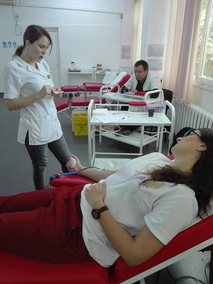Scoala Postliceala FEG Iasi Donare sange